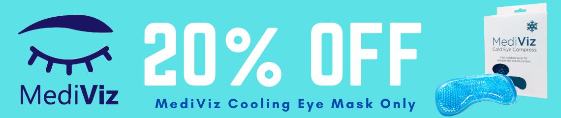 MediViz Cooling Gel Eye Mask