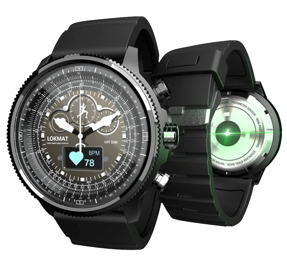 TACTICAL SMART WATCH V11 - iOS/ANDROID