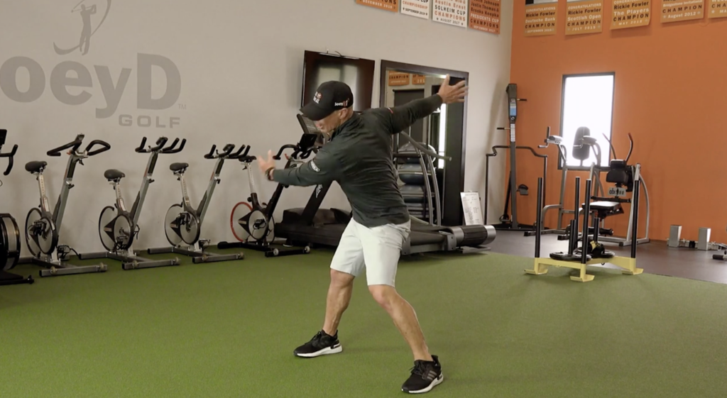 Birdie Town Exclusive Offer - Joey D shares his favorite Golf warm-up stretch and drill in this FREE video