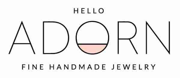 Hello Adorn logo