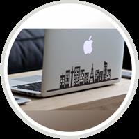 stiker laptop