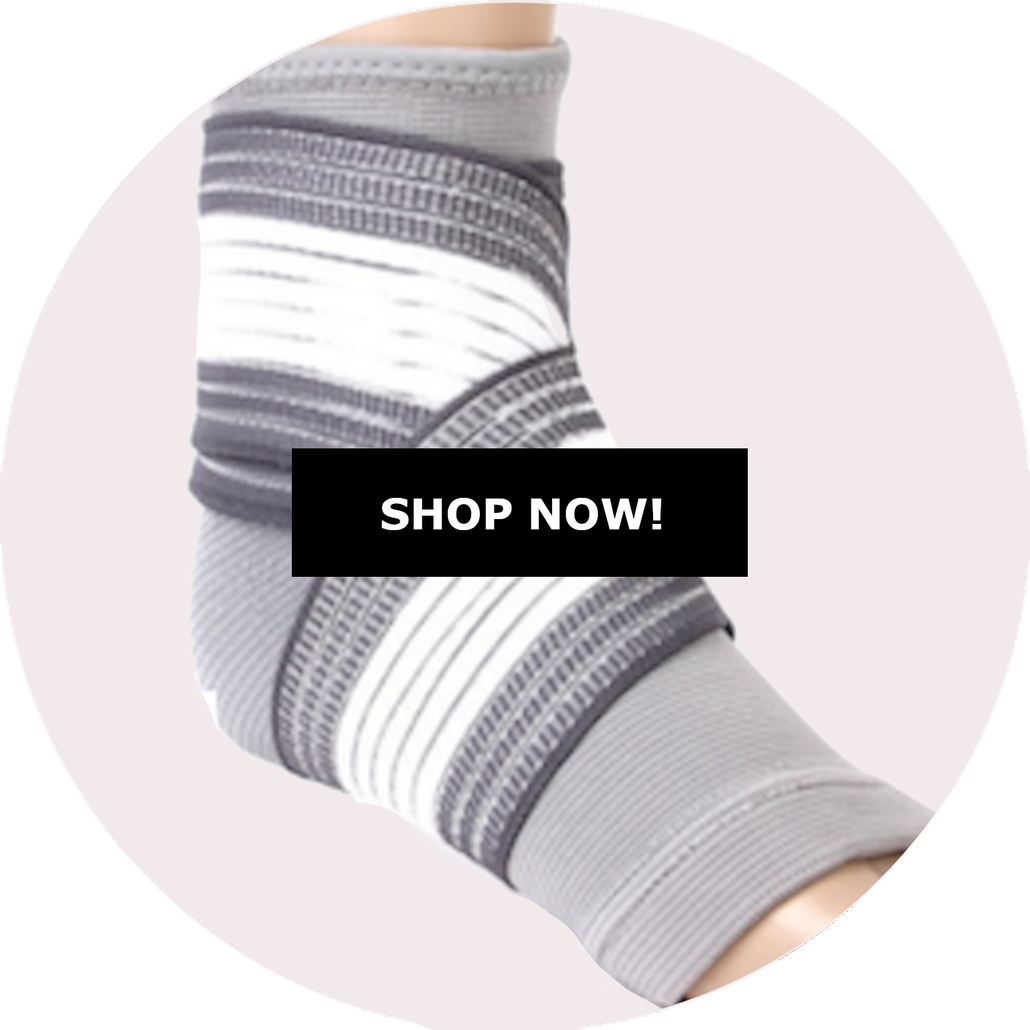 Foot Compression Sleeve with wrap