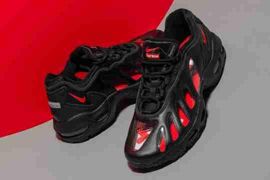 Supreme x Nike Air Max 96 Camo Black Transparent