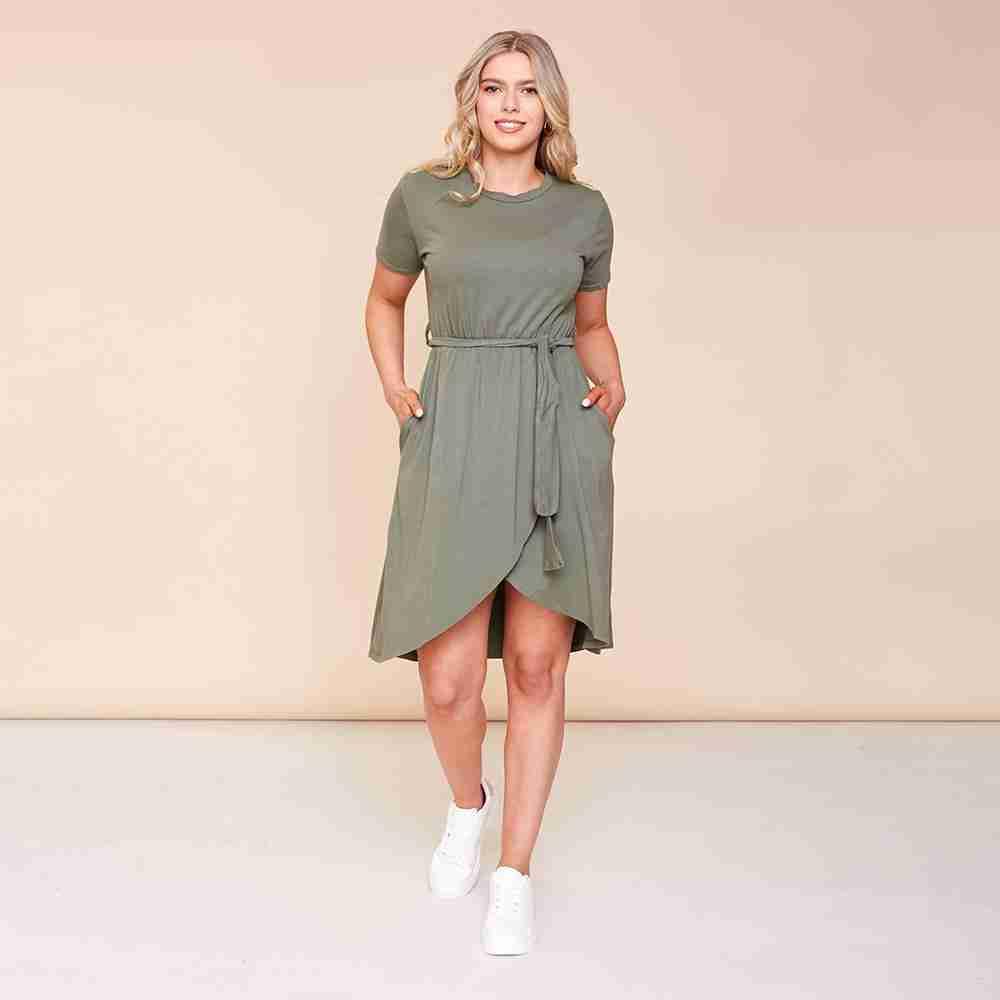 Peyton Dress(Khaki)