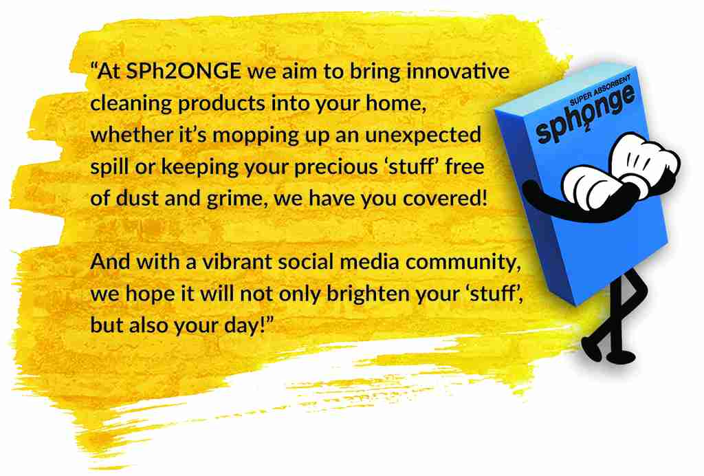 Sph2onge cleaning products