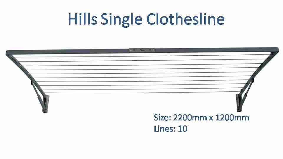 hills single 2200mm wide dimensions