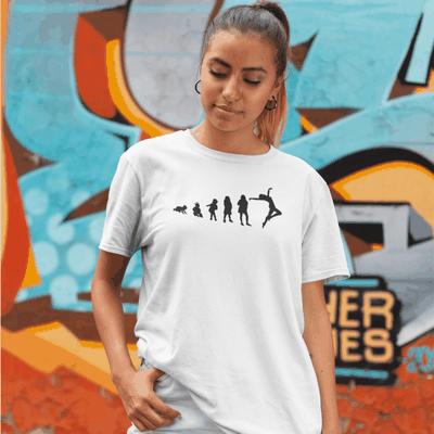 Jazz Dancer Evolution Unisex T-Shirt - Adult