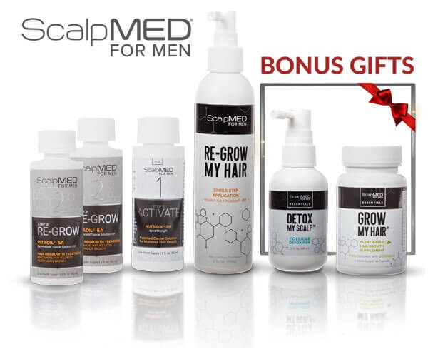 PATENTED HAIR REGROWTH SYSTEM FOR MEN