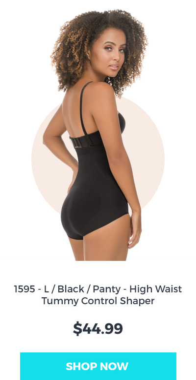 black body shaper with tummy control