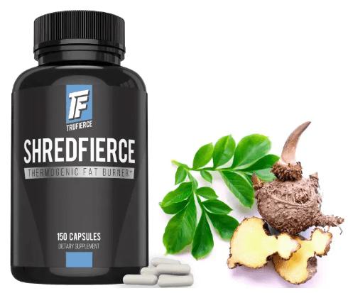 shredfierce natural fat burner formula by trufierce