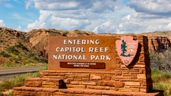 Capitol Reef National Park rv adventure