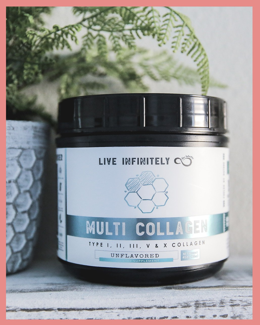Multi Collagen Protein Powder Type I, II, III, V & X Collagen