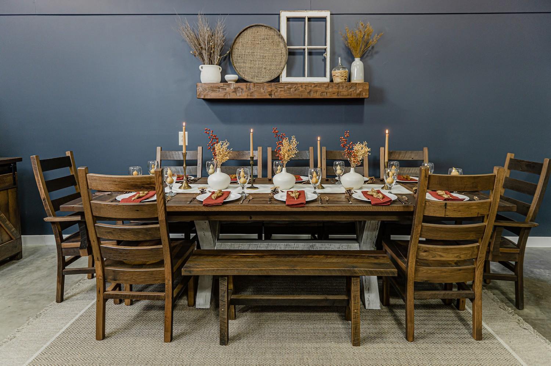 fall family gathering table decor inspiration