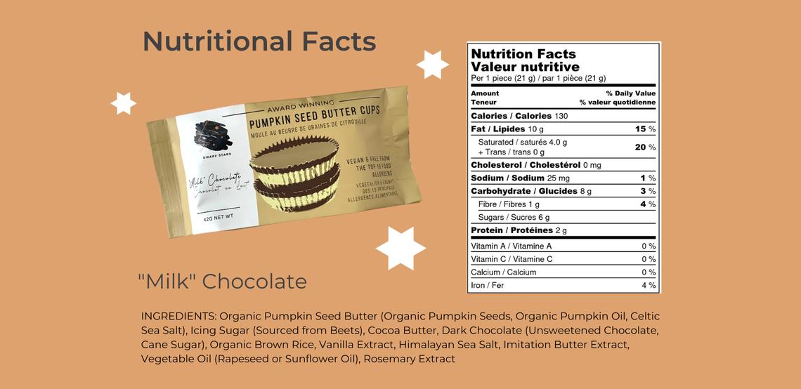 vegan milk Chocolate Pumpkin Seed Butter Cups