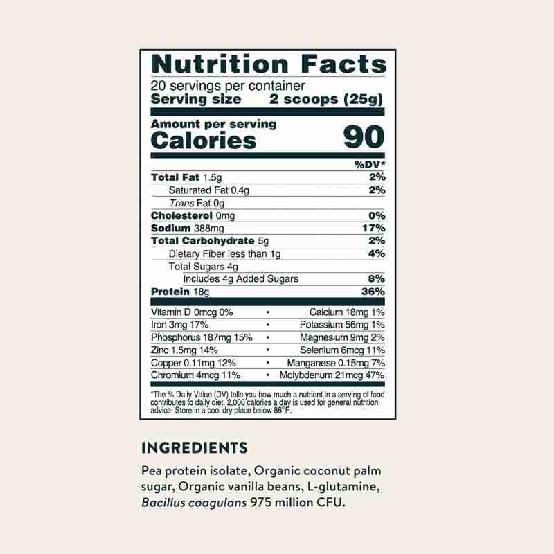 Digestive Support Protein - Probiotic Vanilla