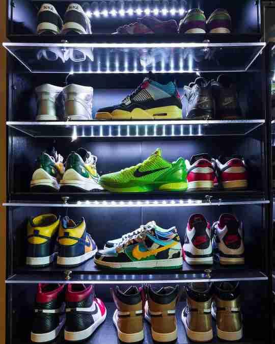 Sneaker Throne