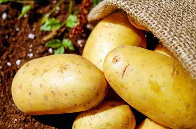 Potatoes boost testosterone