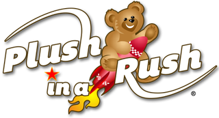 Plush in a Rush Logo