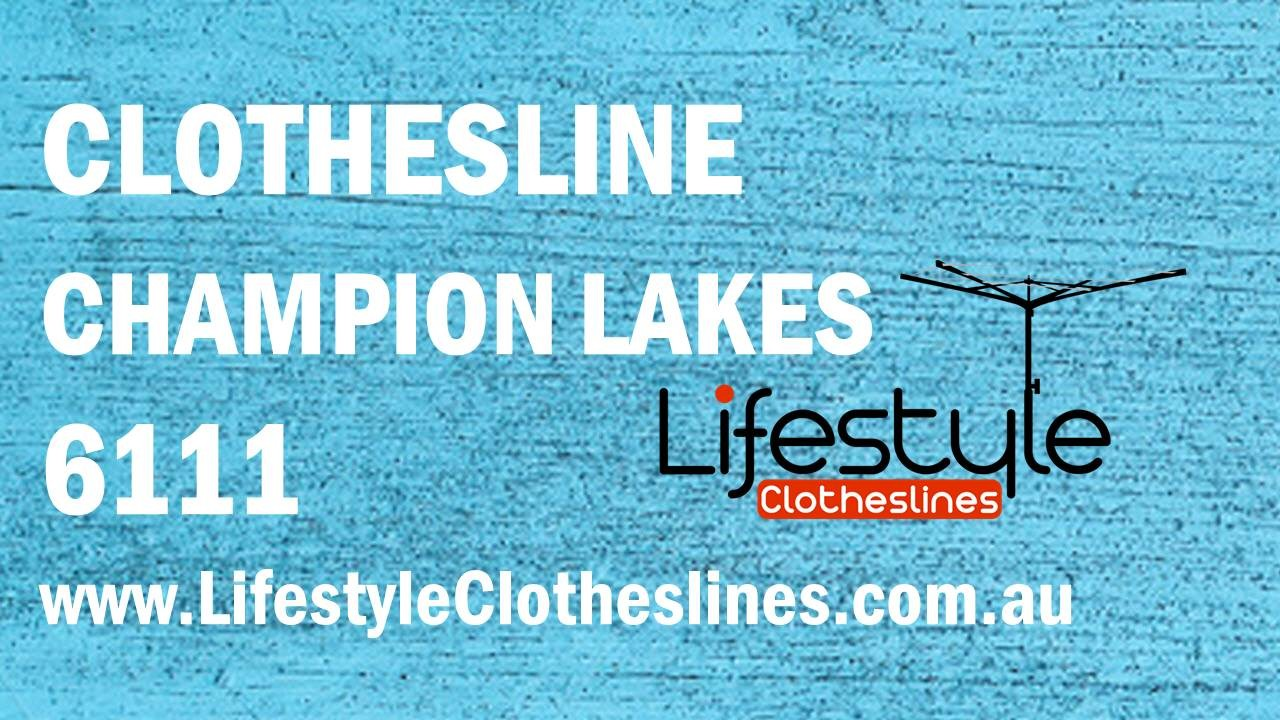 Clotheslines Champion Lakes 6111 WA
