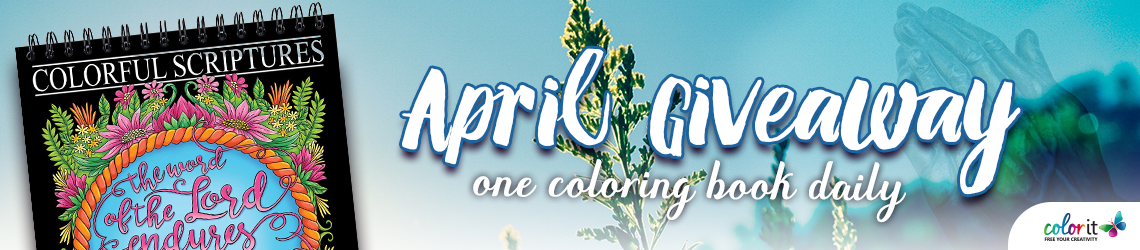 ColorIt April 2020 Giveaway