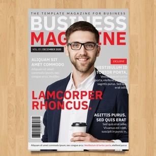 mencetak majalah