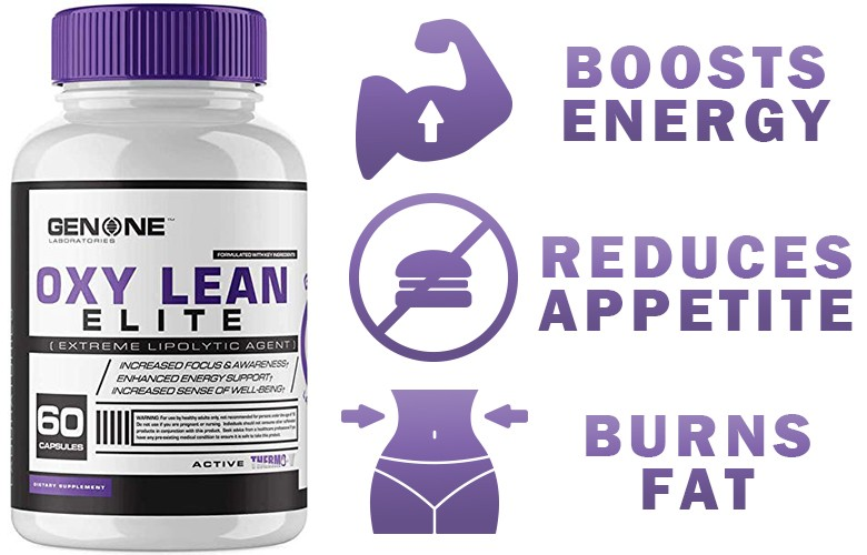 Oxy Lean Elite boosts energy - reduce appetite - burns fat