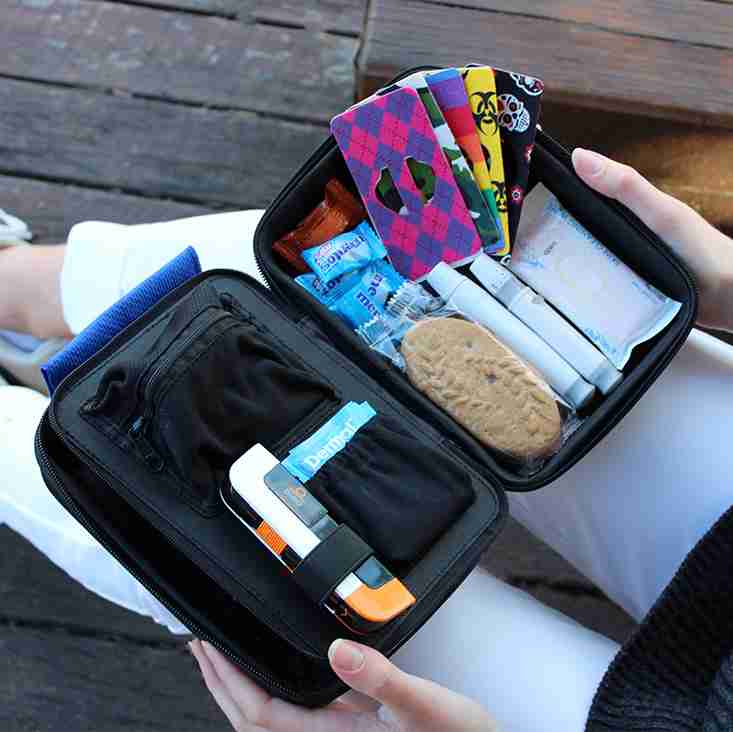 Diabetes support products accessories organiser case