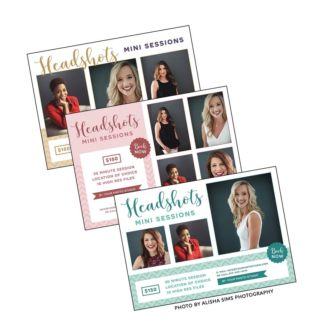 Headshots Photography Marketing Template