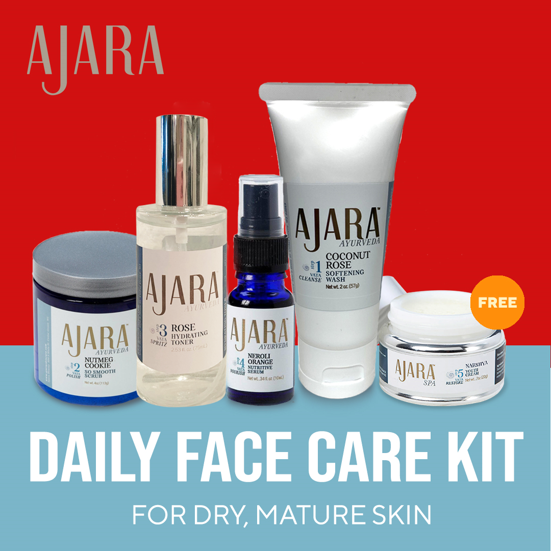 Dry Skin Care Kit For Mature, Dry Skin
