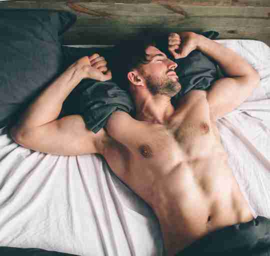 An athlete sleeping more to optimize recovery and muscle growth.