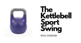 The kettlebell sport swing