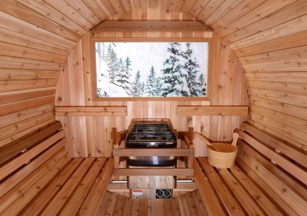 benefits of using an outside sauna