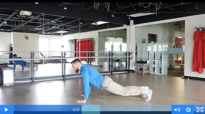 Daily Workout Videos with Drew Manning