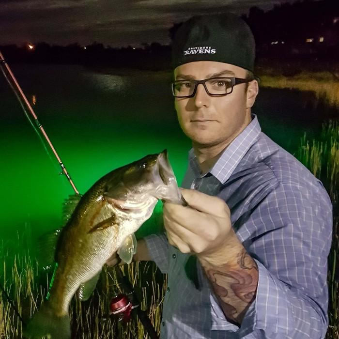 bass fishing light