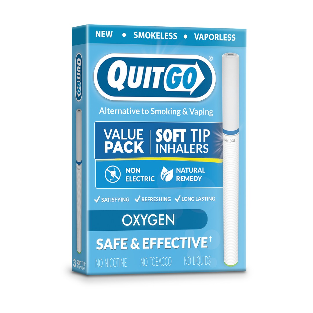 QuitGo® | Soft Tip Inhaler - Value Pack