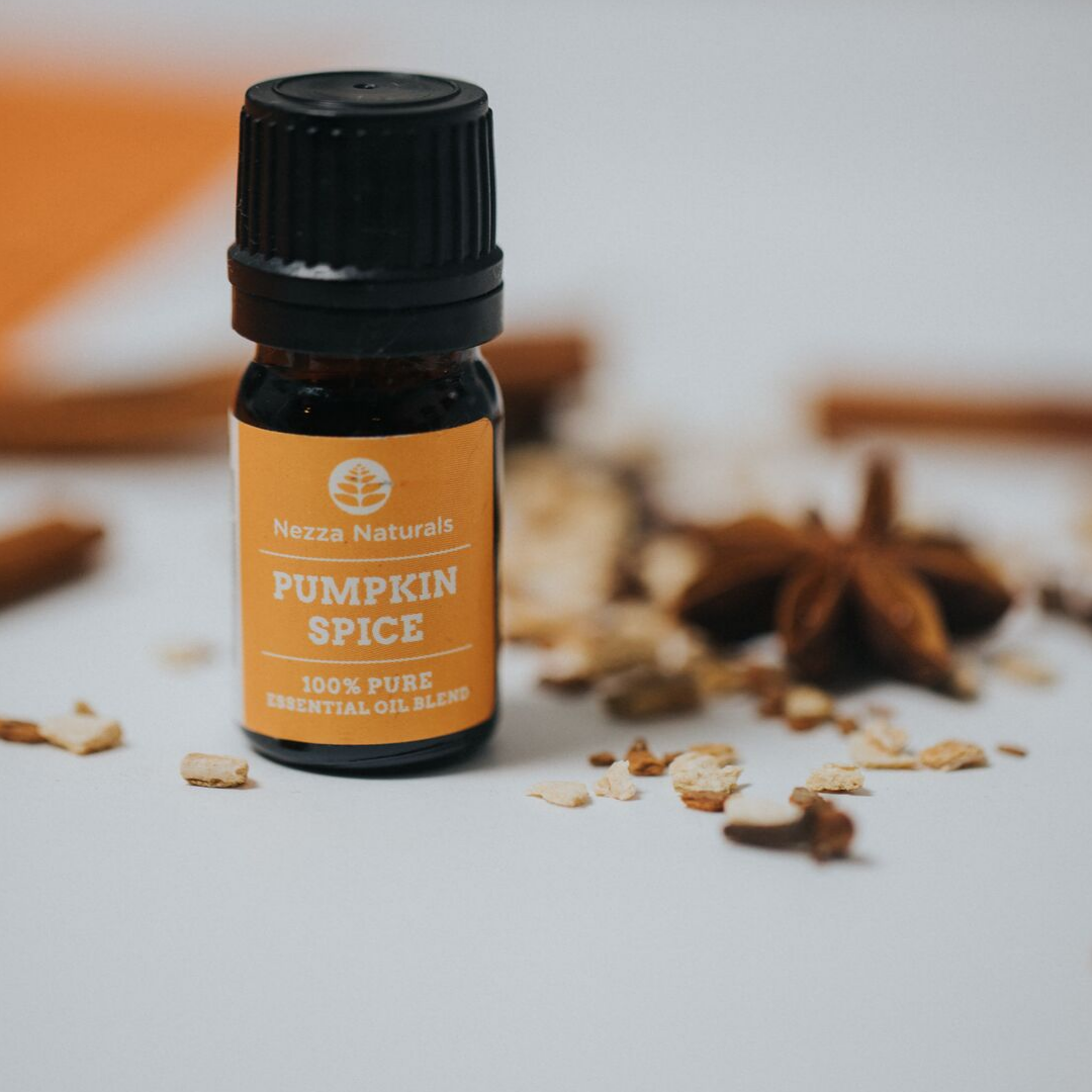 nezza naturals pumpkin essential oil blend