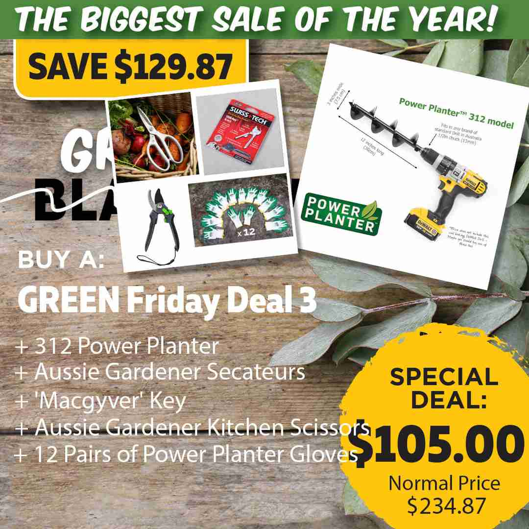 Green Friday Super Deal $234.87 value for just $105 - The biggest sale of the year.