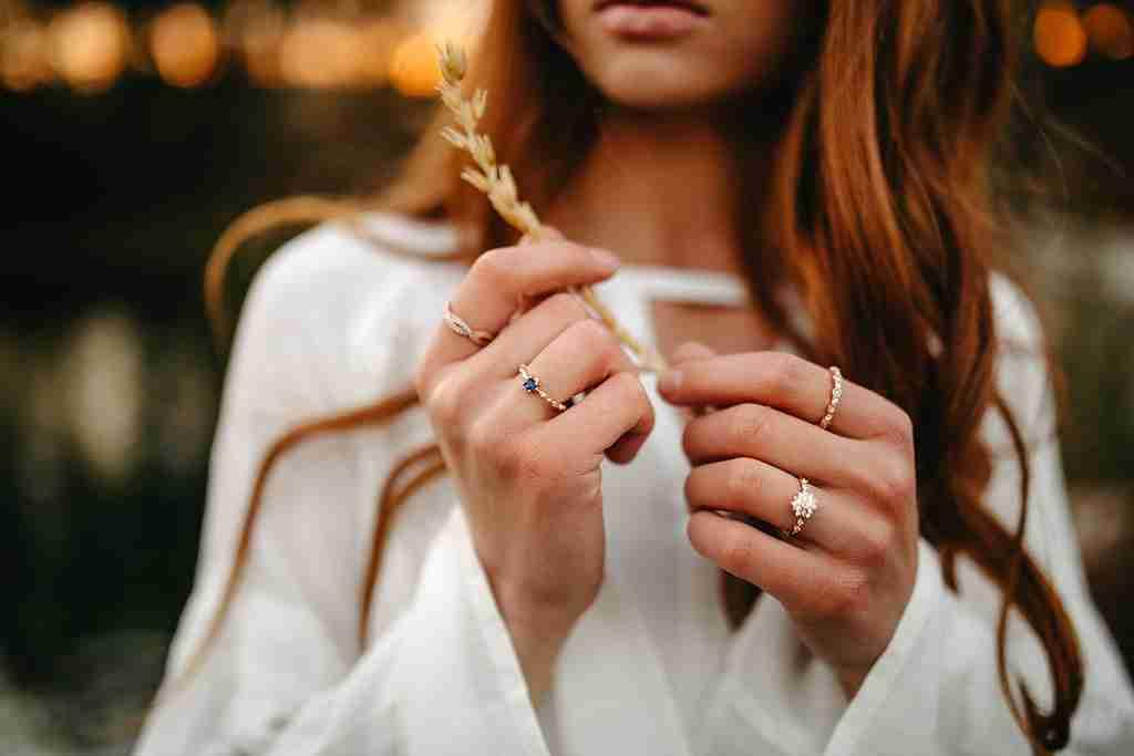 Fall Jewelry - Garen Blue