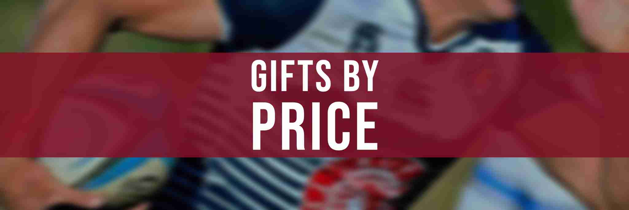 Ruggers Rugby Gifts by Price