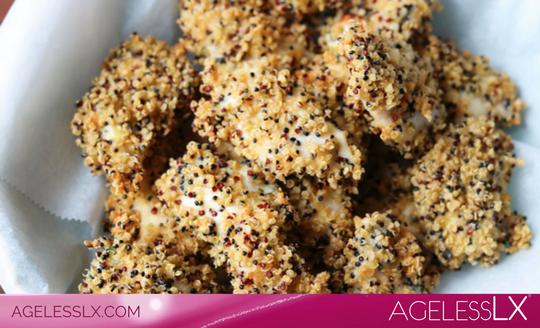Homemade Quinoa Chicken Nuggets