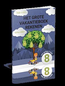 Het Grote Vakantieboek Rekenen - van groep 7 naar groep 8