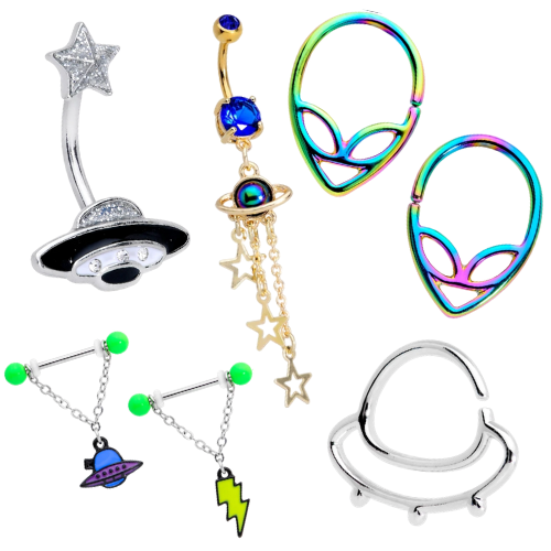 Aliens & UFO jewelry