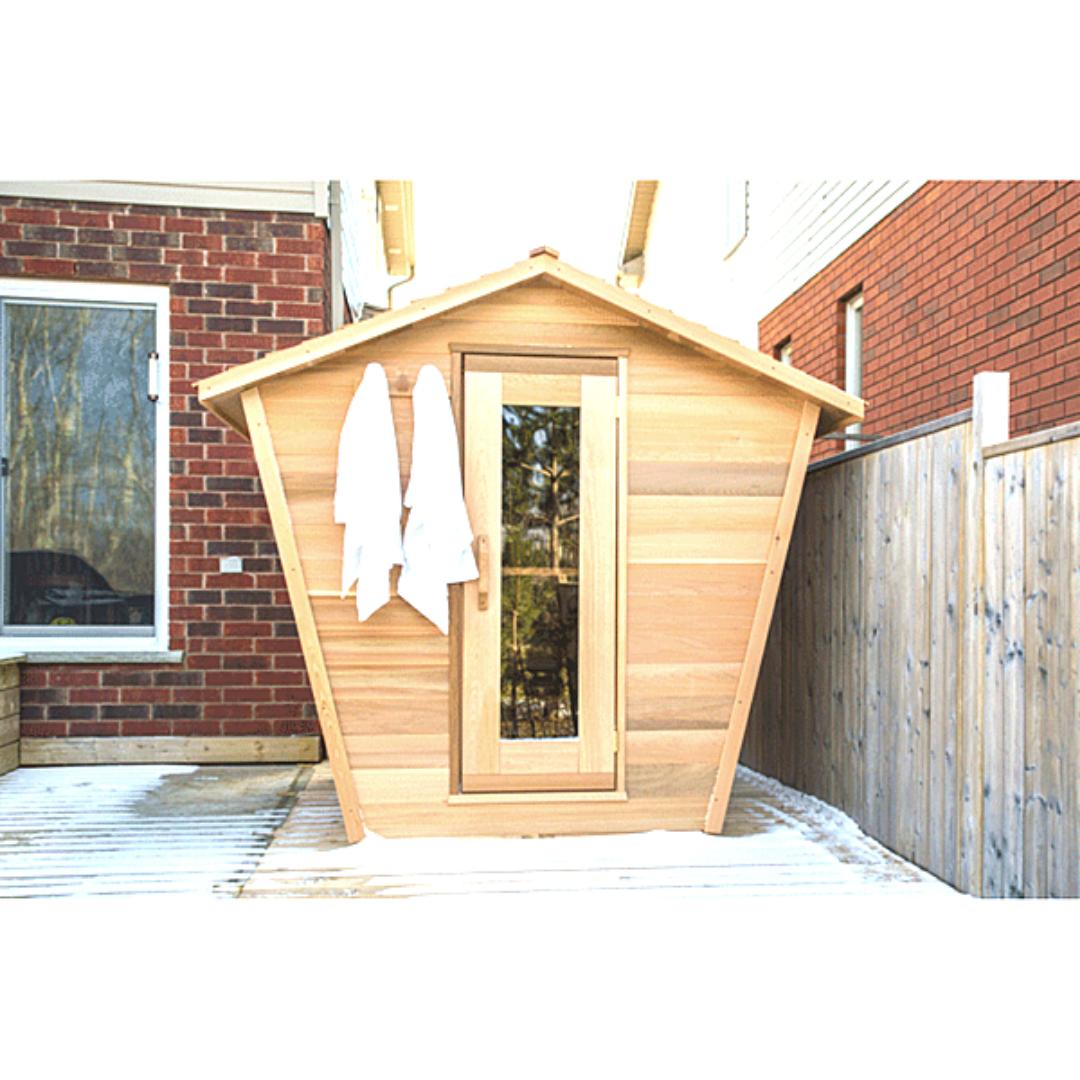 Outdoor Eagles Nest Sauna