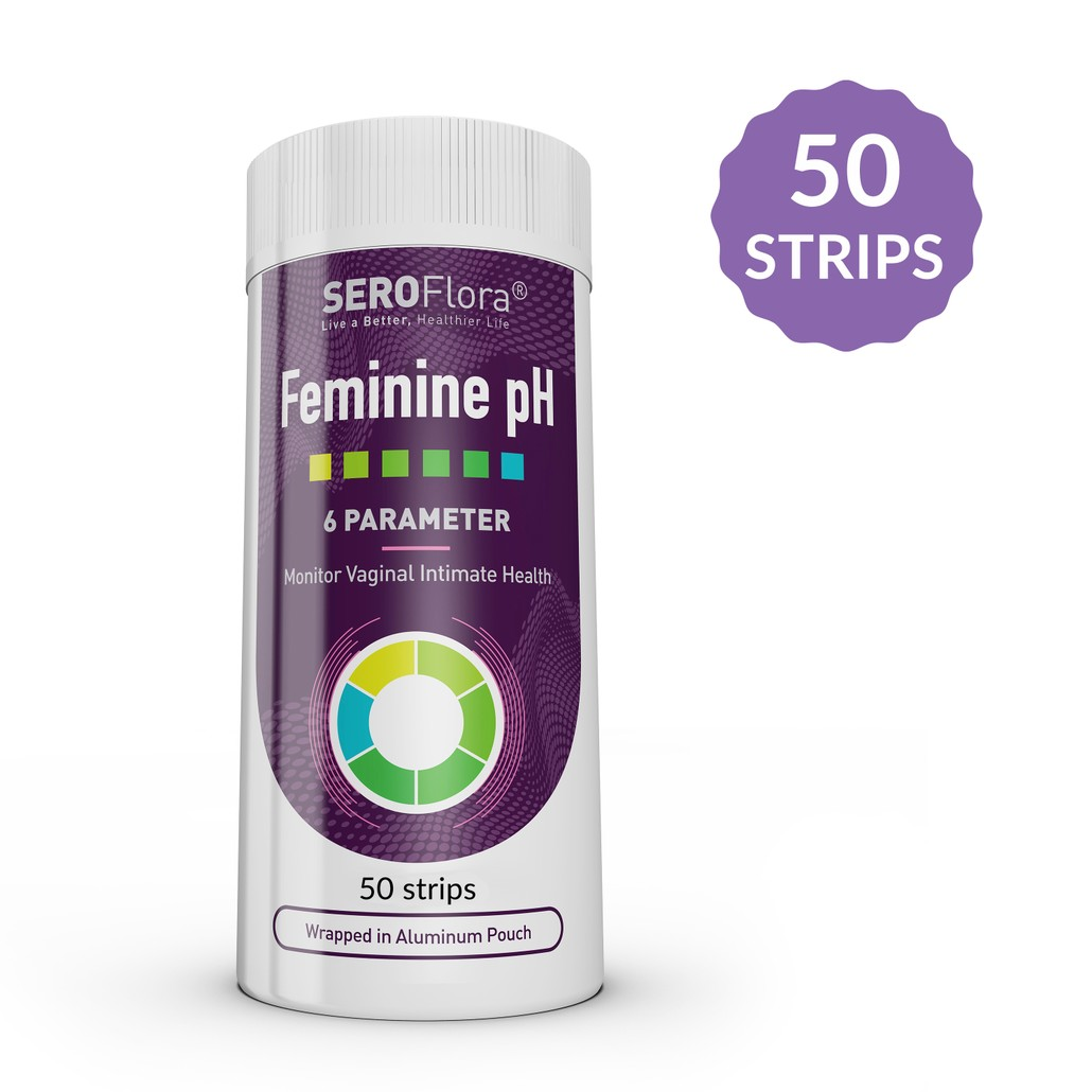 Feminine Vaginal pH Test Strips to test Vaginal pH Balance