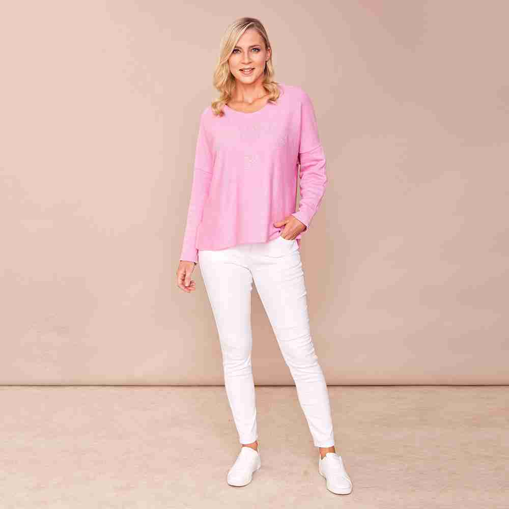 Mia Scoop Neck(Baby Pink)