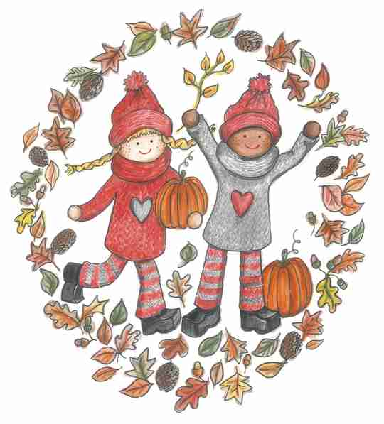 Autumn with the Kindness Elves