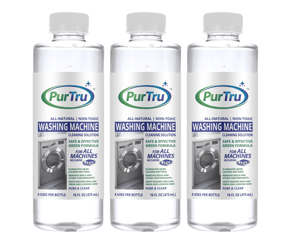 Washing Machine Sanitizing and Cleaning Solution (3 Pack)