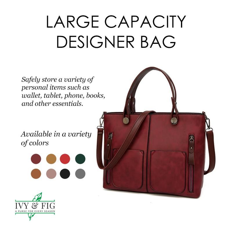 Designer Vegan Handbag
