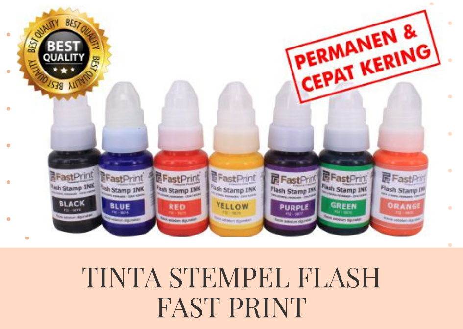 Tinta Stempel Flash