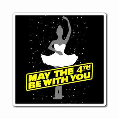 May the 4th be with you - Magnet